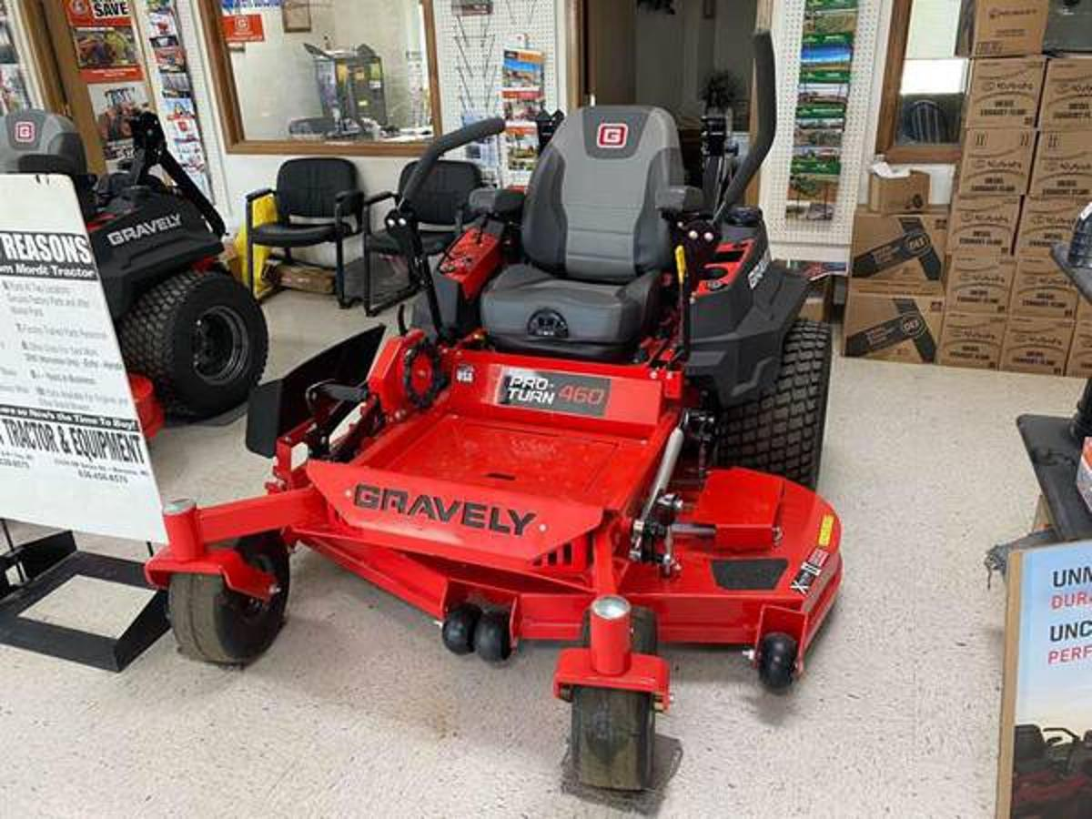 image of Machine Rocket Item #7346- Used Gravely Lawn Mowers