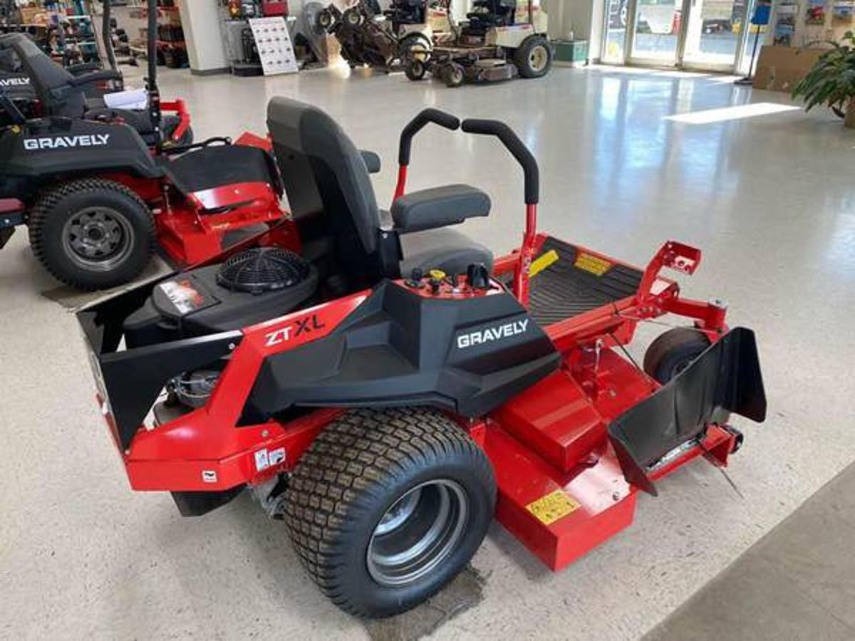 image of Machine Rocket Item #7347- Used Gravely Lawn Mowers